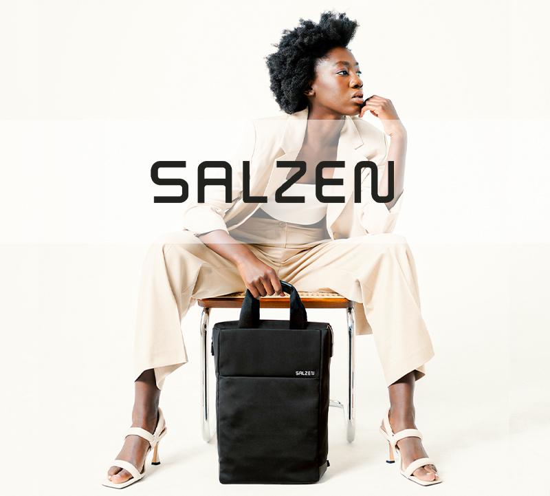 デジタル時代のビジネスバッグとして高い機能性をもつ「サルゼン」