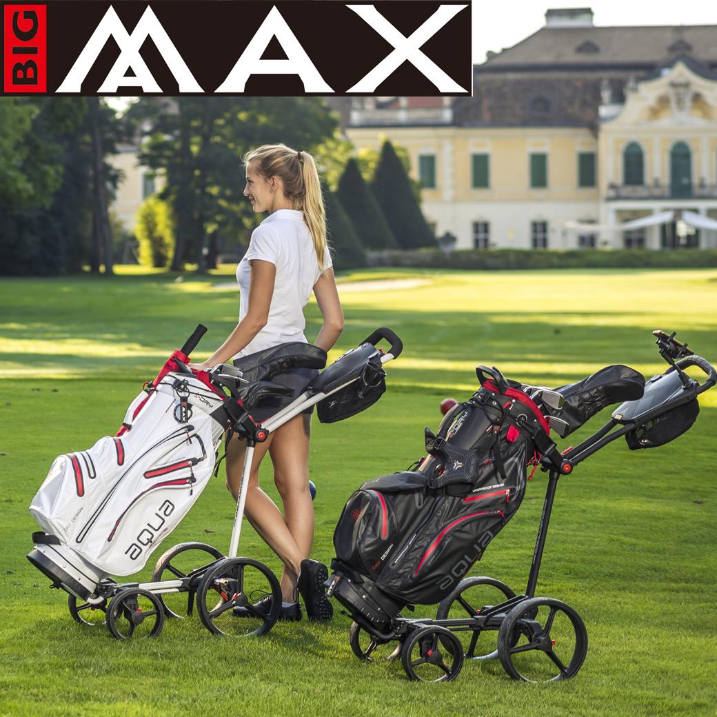 防水技術に重点を置いた、ウィーン発のゴルフバッグブランド「ビッグマックス」。